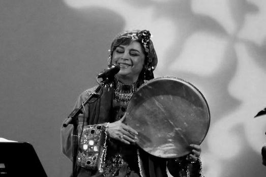 Sima Bina en concierto