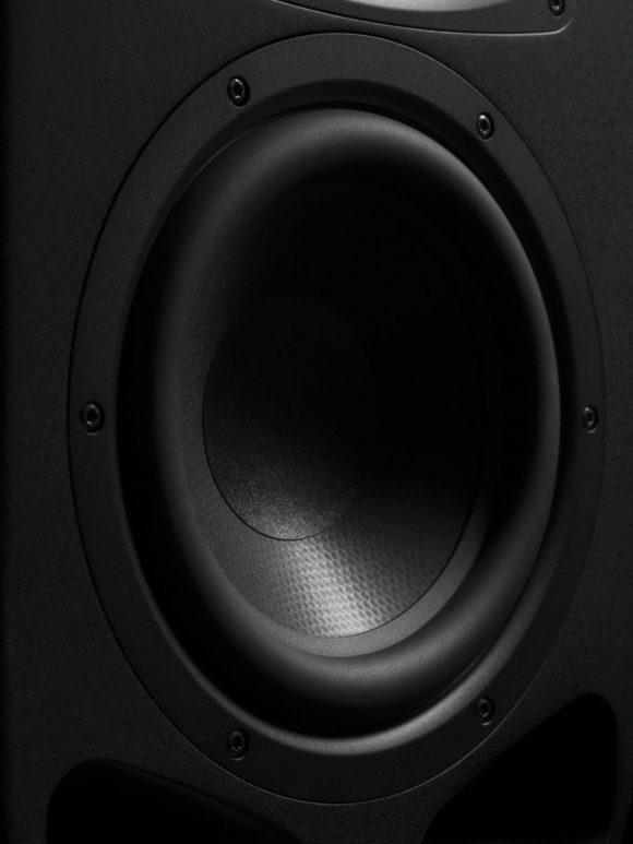 Acercamiento de uno de los modelos de la nueva serie S de ADAM Audio